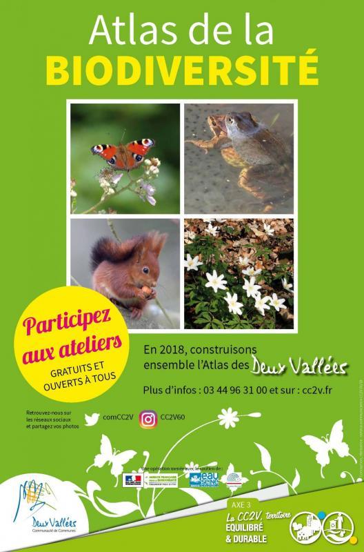 Affiche atlas biodiversite cc2v
