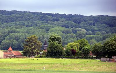 Eglise de Mélicocq et le Colombier