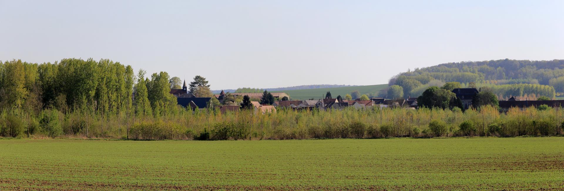 Melicocq vue de chevincourt