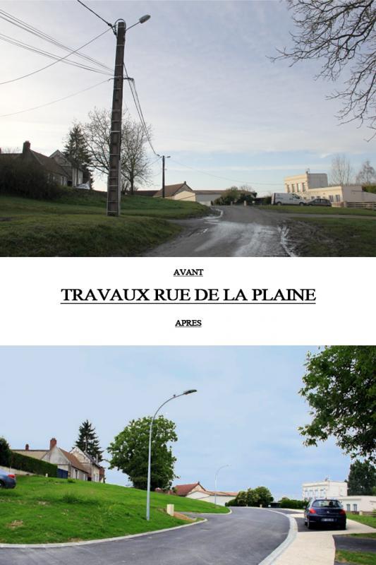 Rue de la plaine avant apres 1