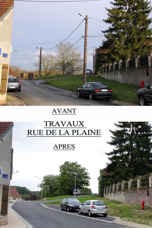 Rue de la plaine avant apres 3